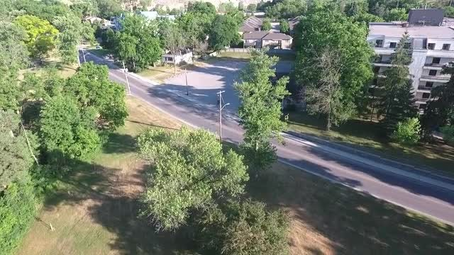 Aerial View Of Residential Community: Stock Video