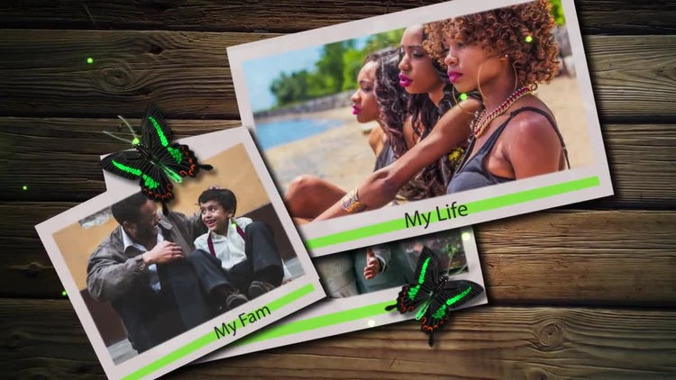 Memories Photos: After Effects Templates