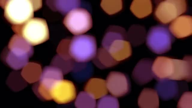 Shimmering Colorful Bokeh Overlay Pack: Stock Motion Graphics