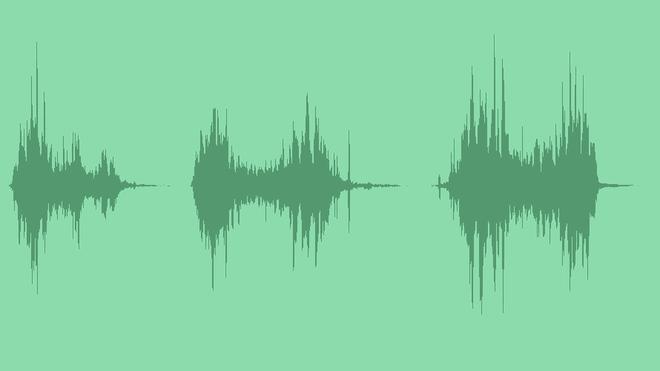 Intro Logo Glitch Transition: Sound Effects