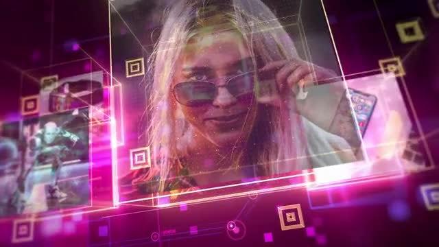 High Tech Slideshow: After Effects Templates