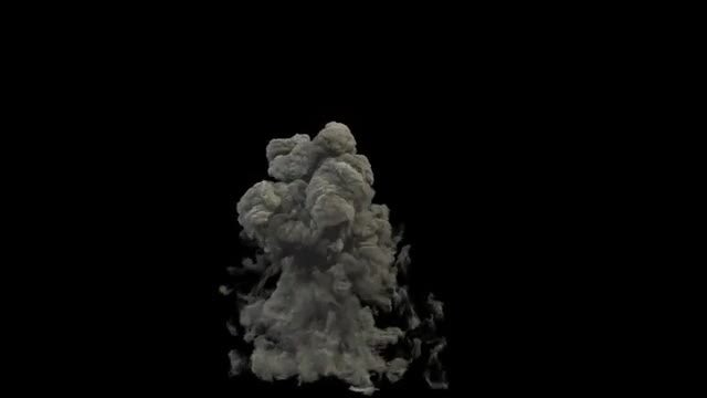 Gasoline Explosion: Stock Motion Graphics