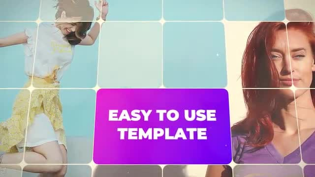Multiframe Slideshow: Premiere Pro Templates