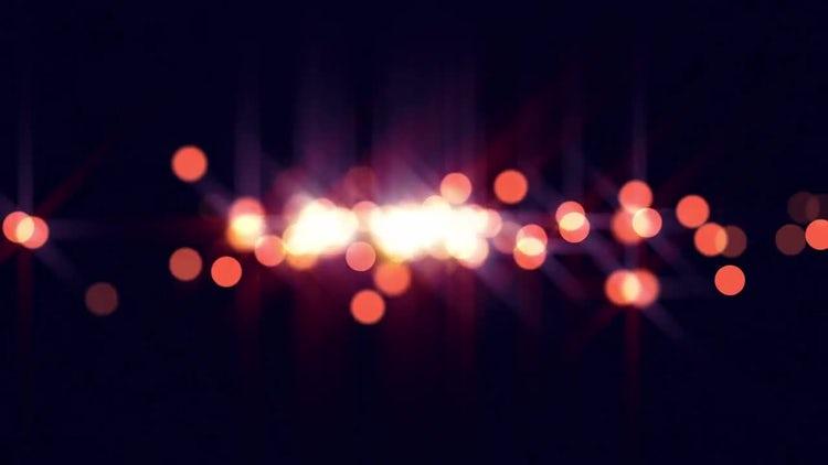 Orange Glimmers: Stock Motion Graphics