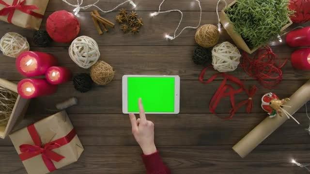 Woman Scrolls On Digital Tablet: Stock Video