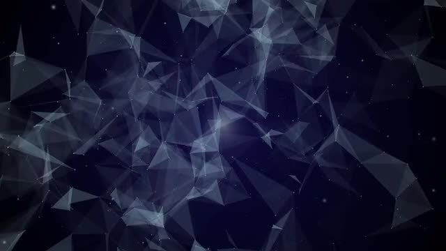 Blue Plexus Background: Stock Motion Graphics