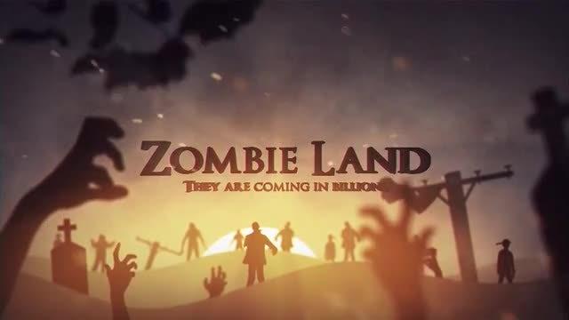 Zombie Land: Motion Graphics Templates