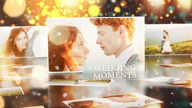 Wedding Memories: After Effects Templates