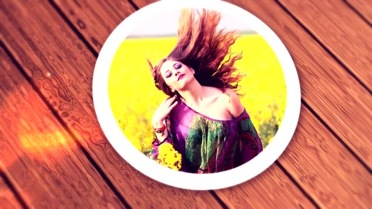 Circle Image Opener: After Effects Templates