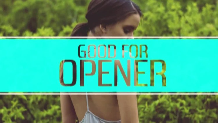Trendy Opener: After Effects Templates