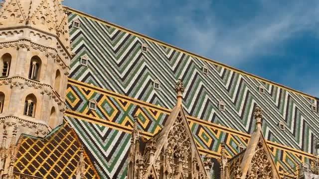 St. Stephen's Cathedral, Vienna, Austria: Stock Video
