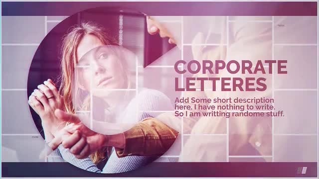 Corporate Letters: After Effects Templates