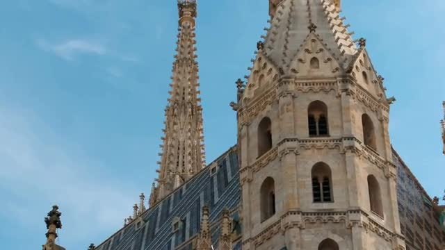 St. Stephen's Cathedral, Vienna: Stock Video