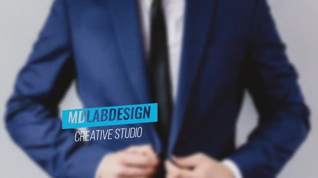 Corporate Blue Lower Thirds: After Effects Templates
