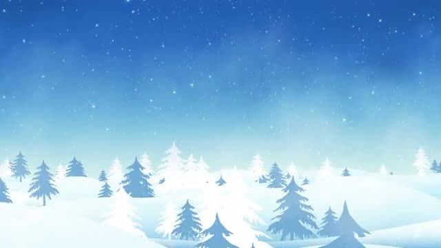 Winter Background 4K: Stock Motion Graphics