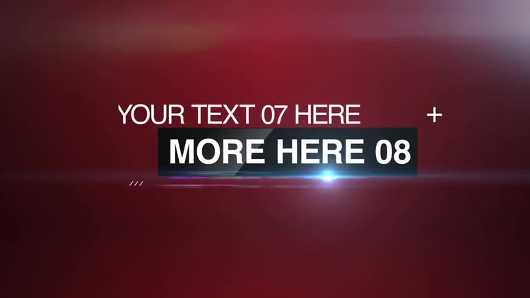News Promo: After Effects Templates