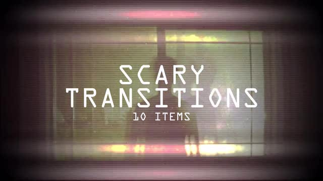 Scary Transitions Pack: Stock Motion Graphics