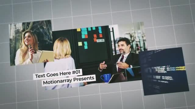 Business Timeline Slideshow: After Effects Templates
