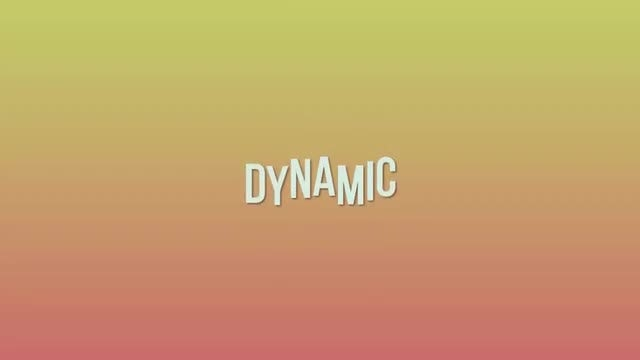 Dynamic Opener: Motion Graphics Templates