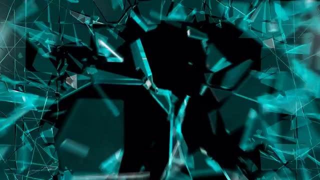Glass Shattering V1: Stock Motion Graphics