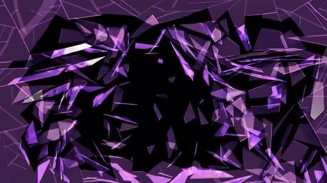 Glass Shattering V2: Stock Motion Graphics