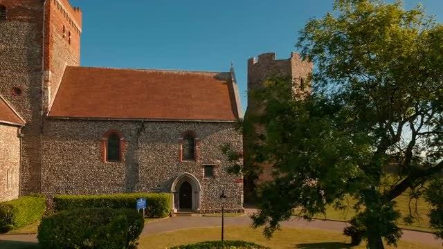 Classical Architecture In Dover: Stock Video