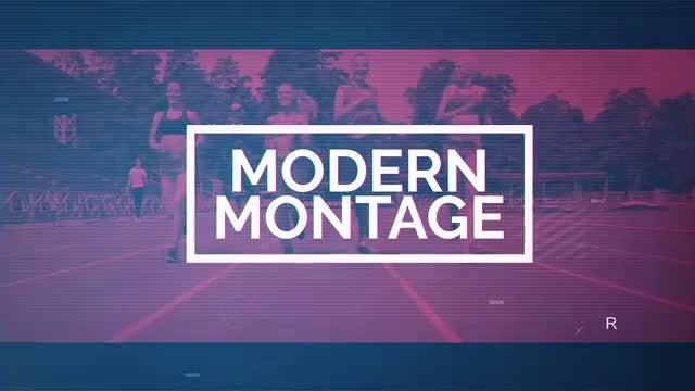 Modern Montage: After Effects Templates