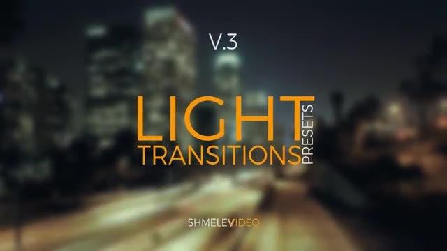 Light Transitions Presets V.3: Premiere Pro Presets