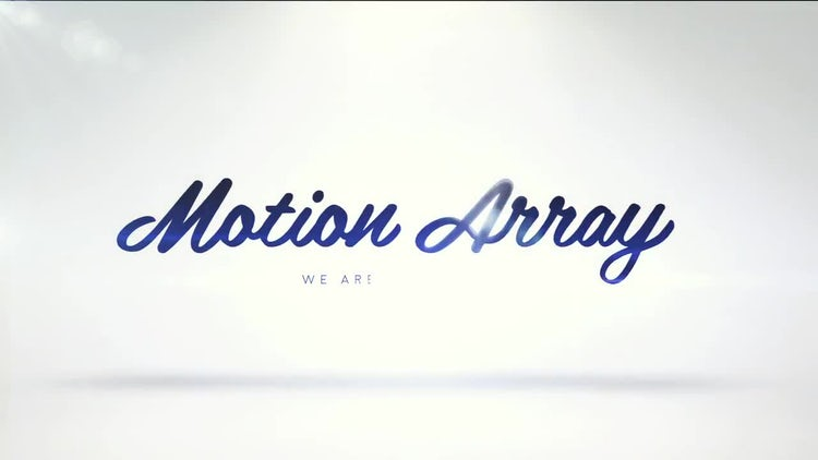 Clean Logo Reveal: After Effects Templates