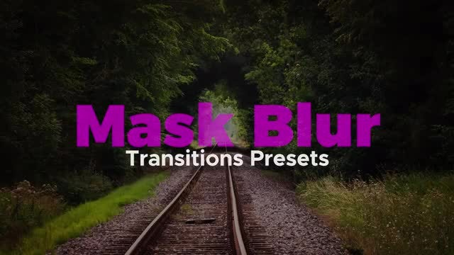 Mask Transitions Presets: Premiere Pro Presets