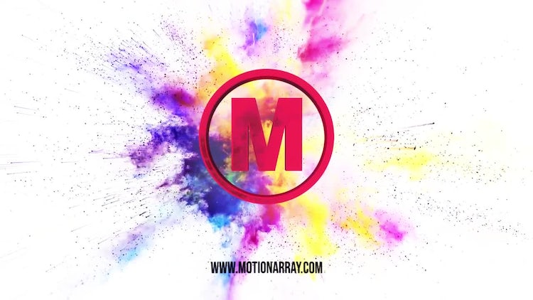 Explosion Color Premium Logo: After Effects Templates