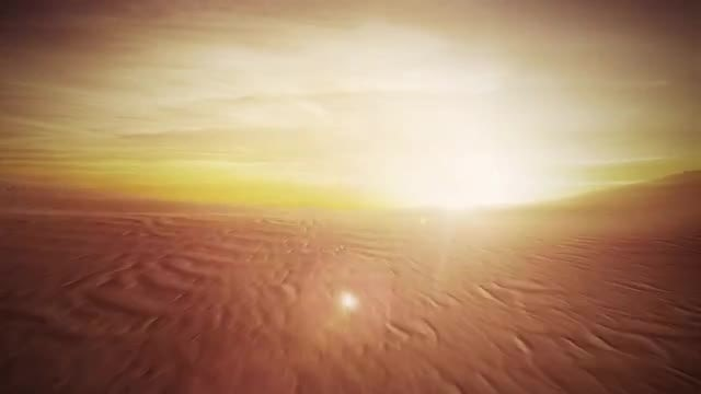 Desert Flight: Stock Motion Graphics