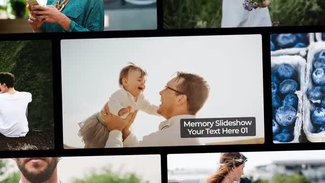 Memory Slideshow: Premiere Pro Templates