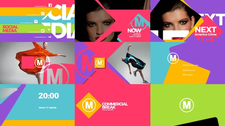 Broadcast Pack: After Effects Templates