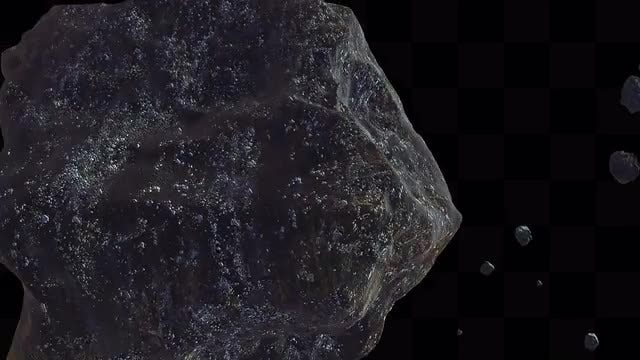 Meteors Flying Transition: Stock Motion Graphics