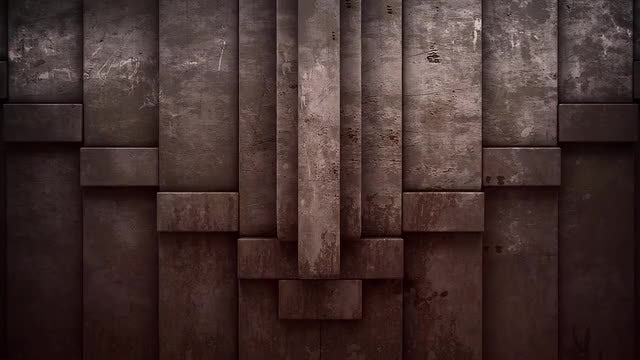 Stone Blocks Stacking Transition: Stock Motion Graphics