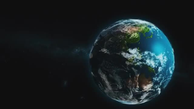 Earth Rotation Zoom Transition Pack: Stock Motion Graphics