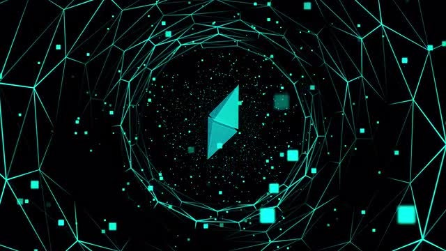 Ethereum Blockchain: Stock Motion Graphics