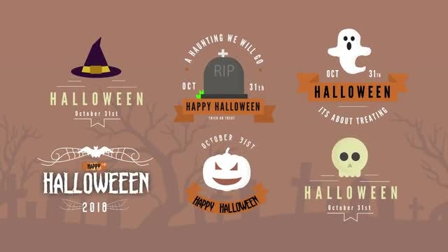 Halloween Pack - Titles: After Effects Templates