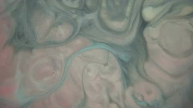 Mixture Of Paints Swirling Slowly: Stock Video