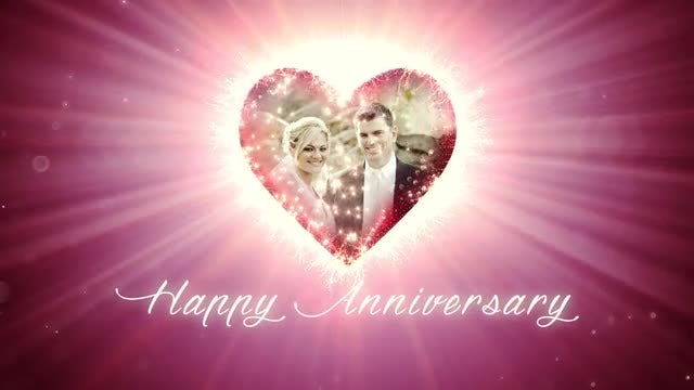 Happy Anniversary: After Effects Templates