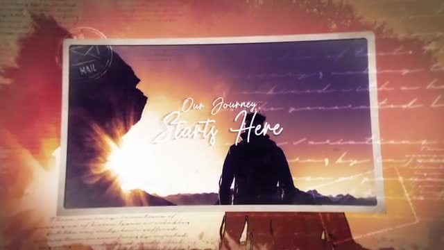 Our Journey Creative Slideshow: After Effects Templates