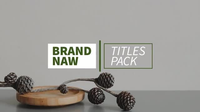 New Titles & Lower Thirds 4K: After Effects Templates