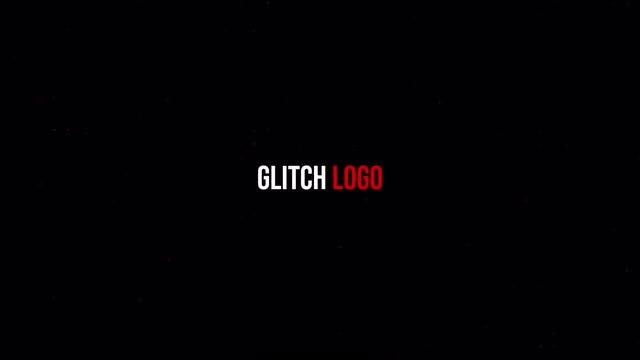 Glitch Logo Reveal: Premiere Pro Templates