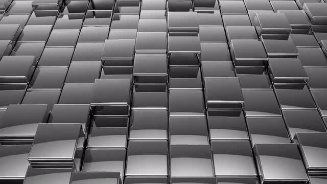 Silver Cubes: Stock Motion Graphics