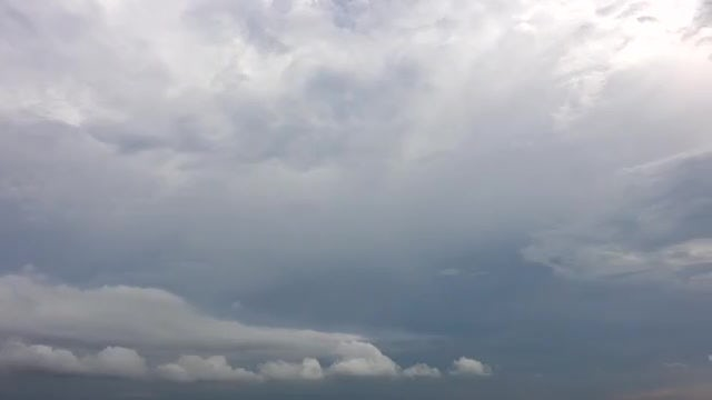 Time Lapse Of Silver Clouds: Stock Video