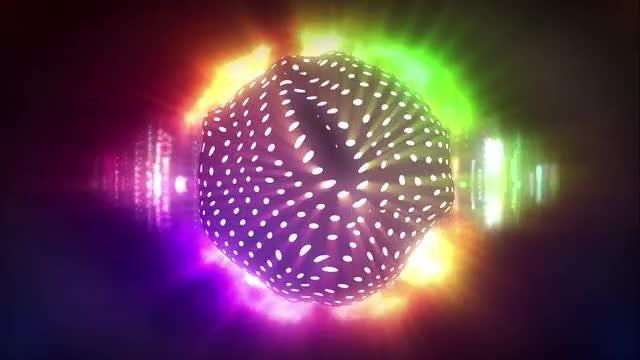 Jelly Disco Ball: Stock Motion Graphics
