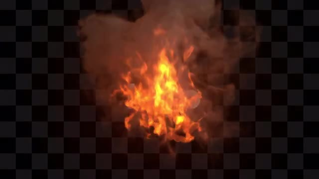 Fire Ball Logo Reveal: Stock Motion Graphics