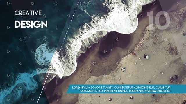 Inspiring Travel Slideshow: Premiere Pro Templates