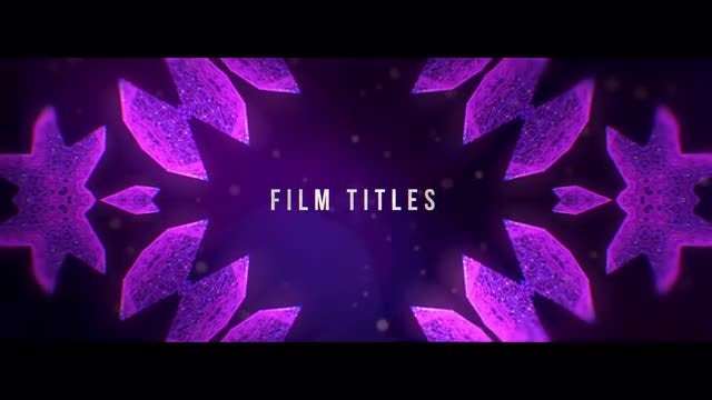 Film Titles: Premiere Pro Templates